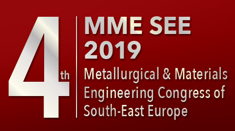 MME SEE 2019 Metallurgical & Materials Engineering Congress of South-East Europe